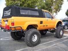 1985 toyota 4 runner w/canback
