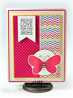 May SOTM My Love For You Grows Card by Stephanie Kraft #Cardmaking, #StampoftheMonth, #ValentinesLove, http://tayloredexpressions.com/kits.html