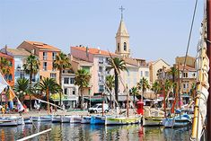 Port en couleurs à Sanary-sur-Mer