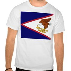Shop Flag of American Samoa T-Shirt created by worldcuprugby. Fitness Models, Polo Ralph Lauren, Flag, Island, American, Casual, Sleeves, Cotton, Mens Tops