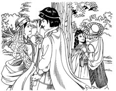 Scene 2 from florante at laura story