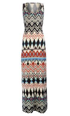 Primark Aztec Maxi Dress - bought in Scotland