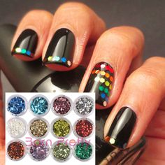 I find an excellent product on @BornPrettyStore, 12 Colors Nail Art Shiny Hexagonal Glitter Po... at USD $5.16. http://www.bornprettystore.com/-p-3103.html