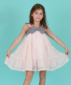 Look at this Pink Ruffle Dress - Toddler & Girls on #zulily today!