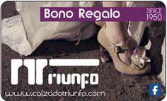 BONO  Diseño de piezas gráficas y publicitarias #Calzadotriunfo