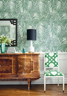 Noir Blanc Interiors gives a shout out, to the #1stDayOfSpring  Photo Thibaut - West Palm from Summer House Collection