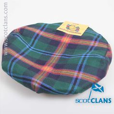Young Tartan Cap. Free worldwide shipping available.