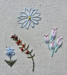fly stitch flowers- fab! love the videos EK