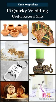 Wedding Return Gifts: 15 Ideas & Items That Are Actually Useful