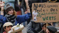 """Zadistes, os novos """"terroristas"""" verdes"""
