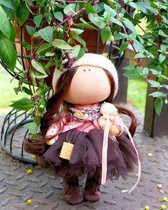 Крошка 24 см #интерьернаякукла #интерьерныеигрушки #куколка #кукла #текстильнаякукла #куклаизткани #декор #интерьер #девочка #дляинтерьера #длядетей #подарок #весна #цветы #скоролето #мимими #своимируками #хэндмейд #сделанослюбовью