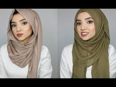HIJAB TUTORIAL | GET THE LOOK: Rumena Rahman & Ruba Zai (hijabhills) - YouTube