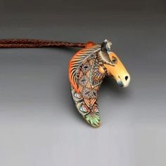 Horse Pendant Necklace   Nature Jewelry