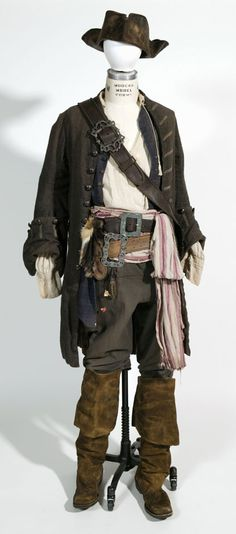 Pirates of the Caribbean - Captain Jack Sparrow costume Pirate Garb, Pirate Cosplay, Movie Costumes, Halloween Costumes, Pirate Costumes, Teen Costumes, Woman Costumes, Mermaid Costumes, Couple Costumes