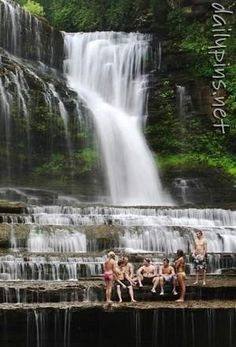 Cummins Falls  -- Cookeville, Tn.