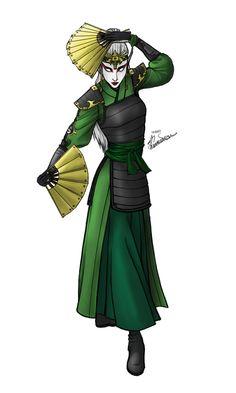 Kyoshi Warrior Laelinei by Timelady-Saxon