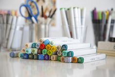 """Copic Originals are preferred by architects and product designers,"" explains Marianne Walker. ""Our bestselling Sketch markers are brush-tipped and used for all forms of illustration, fashion design, comics and paper-crafting. Ciao markers with their lower price point are an entry level professional marker with the same popular brush nib. Wide markers are used for large renderings, architectural sketches and product design."" copicmarker.com"