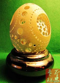 World egg carving  蛋中蛋