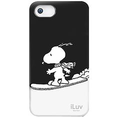 #Snoopy Hard Shell Case for #iPhone 5, Snoopy Snowboarding $34.99 From #DayDeal