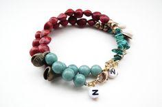 STUDIO NOLDS Sieraden - Pau Brasil bracelet Handmade Jewelry, Beaded Bracelets, Fashion, Brazil, Moda, Handmade Jewellery, Fashion Styles, Pearl Bracelets, Jewellery Making