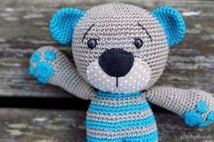 stitchydoo: Tummy Teddy | Gehäkelter Teddy mit ganz besonderen Details | #crochet #häkeln #lilleliis #amigurumi #teddybear