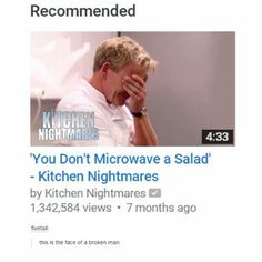 Sometimes I'm Gordon sometimes I'm the person who microwaved a salad there is no in between