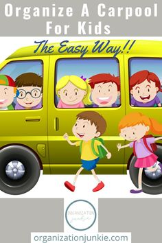 Don't over complicate things. Back to school is hard enough. Help your kids and you get excited for the school year by organizing a carpool. Learn how by reading this post. It's simple and makes so much sense. #organizationideas #organizationtips #organizationjunkieblog Organization Lists, Bathroom Organization, Organizing Ideas, Binder Storage, Home Binder, Back To School Supplies, Sports Activities, Get Excited