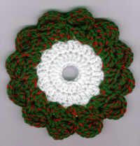 Christmas Wreath CD Hotpad