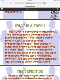 general topics for public speaking