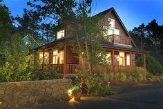 """Overleaf Village Beach Cottage Rentals"" Oregon Coast"