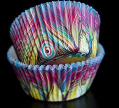 Hey, I found this really awesome Etsy listing at https://www.etsy.com/listing/181339802/peacock-feather-cupcake-liners