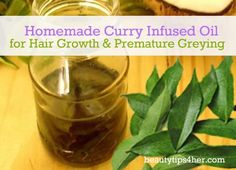 Homemade Curry Infused Oil for Hair Growth & Premature Greying   Beauty and MakeUp Tips Is this ok for dyed hair? Will it take out the color? Is it ok for blond hair? I've heard vinegar and olive oil can take out color. What CAN I use?
