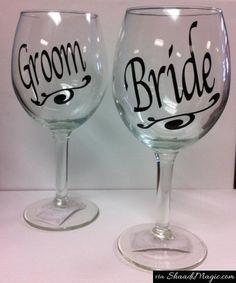 Gift the couple to be married a pair of wine for the bride and groom. So that someday they plan a date for each other post-wedding.