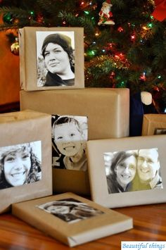 such a fun way to do gifts