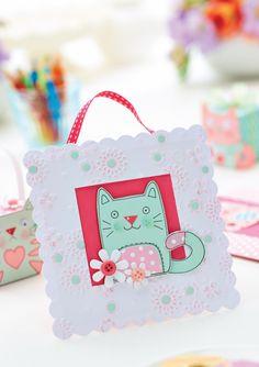 Kitten Papercraft Makes