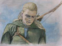Fan Art of Legolas for fans of Lord of the Rings 14060987 Fellowship Of The Ring, Lord Of The Rings, Tolkien, Legolas And Thranduil, Gandalf, The Two Towers, Image Of The Day, Fan Art, Illustrations