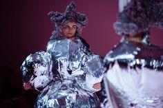Comme des Garçons AW17 womenswear paris dazed