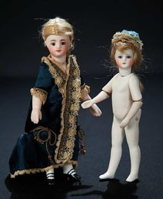French All-Bisque Mignonette with Jointed Elbows and Brevete Marks 1400/1800 Auctions Online | Proxibid
