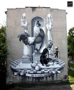 Warsaw, Poland #art #arte  #StreetArt #mural #graffiti
