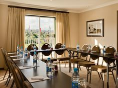With six venue options, the hotel is ideal for boardroom meetings, presentations, training, seminars, conferences and weddings Decor, Table, Boardroom, Furniture, Conference Room Table, Hotel, Home Decor, Room