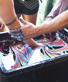 Body Marbling Is the Most Hypnotic Beauty Trend from InStyle.com