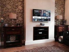Lounge Fireplace Conversion for Hi-Fi