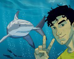 Selfie with ma shark boy