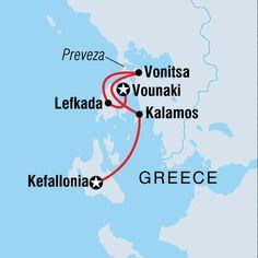 Sail Greece Kefallonia To Vounaki