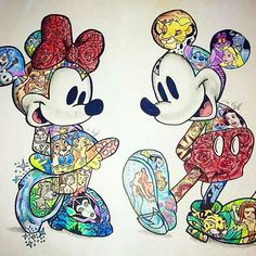Mickey & Minny