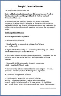Resume For Librarian Pleasing Resume Sample For Graphic Artist Here Is A Great Sample Of Resume .