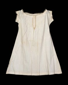 how to make a mid-late 19th century chemise.