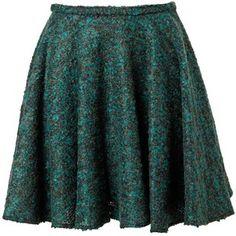 KENZO Boucl? tweed miniskirt