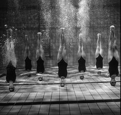SYNCHRONIZED SWIMMING Synchronized swimming, once known as water ballet, has grown from its humble origins to become a fully organized, internationally competitive sport, reaching the Olympics in 1984. It's a female dominated discipline, though men compete internationally. Competitions are organized into four categories: solo, duet, team (four to eight swimmers), and combination (ten swimmers). Although synchronized swimming is a graceful and gentle sport, it requires a stage-like charisma…