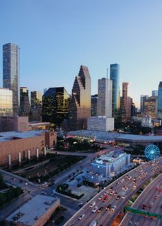 Love this view driving in from I45 North #downtown #houston